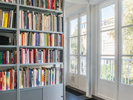 Bibliotheek tweede verdieping