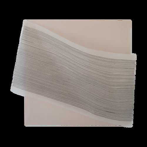 Dispositif papier, permettant une étude cinétique des courbes.