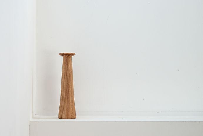 stéthoscope réalisé en bois tourné