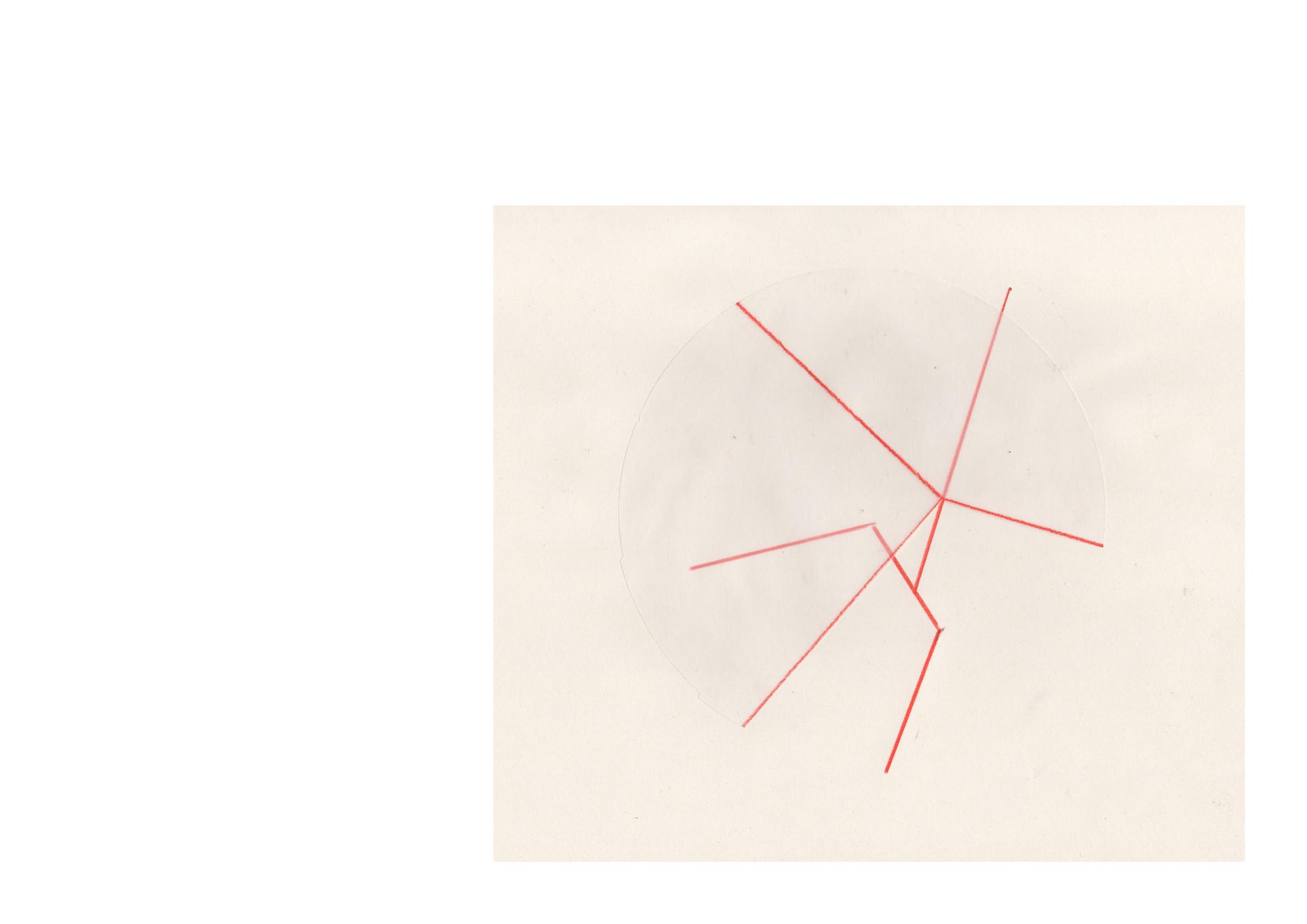 lignes définies, formes superposées