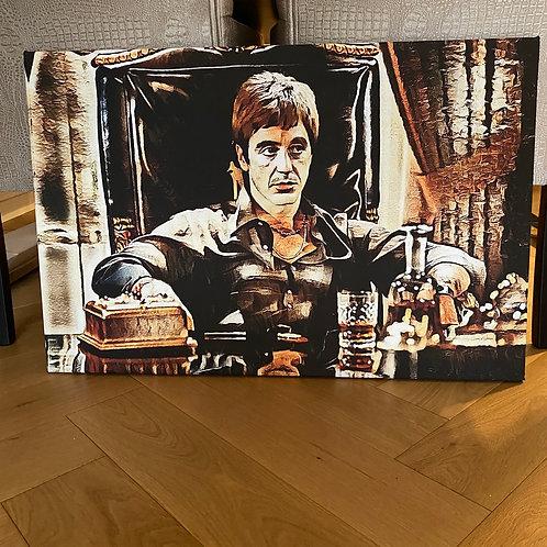 Schilderij  Tony Montana
