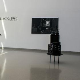 Black/1995 (installation, solo show, Tyler School of Art)