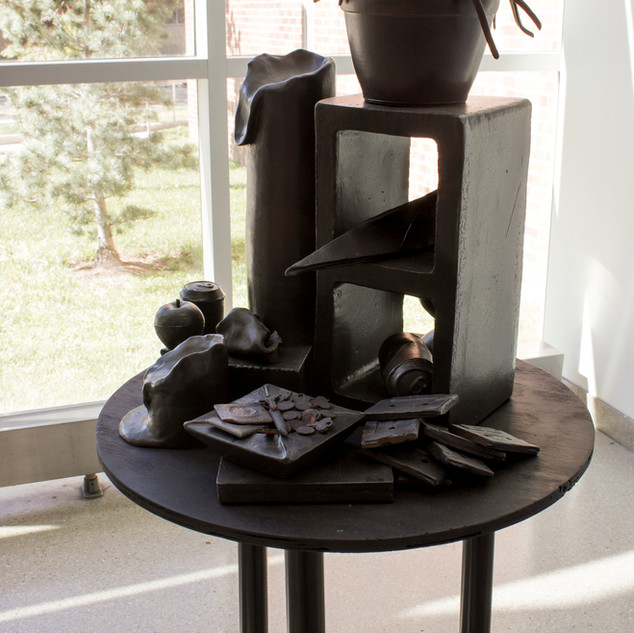 Untitled (Black/1995 (installation, solo show, Tyler School of Art))