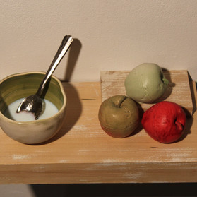 Leftover Milk and Apples