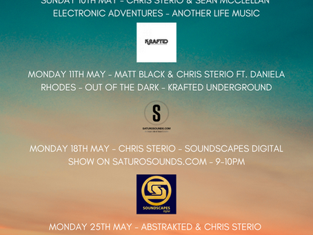 Releases & Broadcasts - May 2020