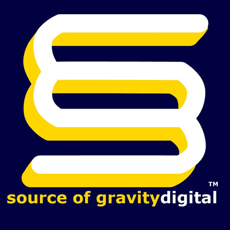 Source of Gravity Digital Logo