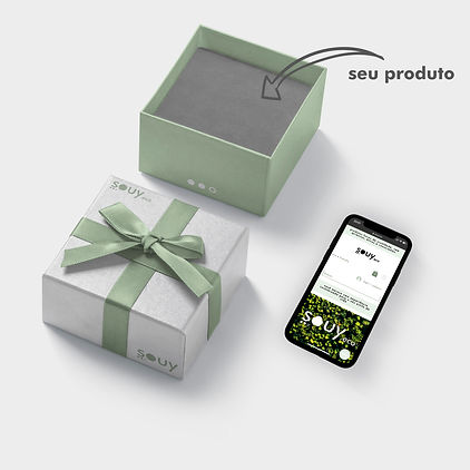 Caixa para produtos naturais online Souy eco