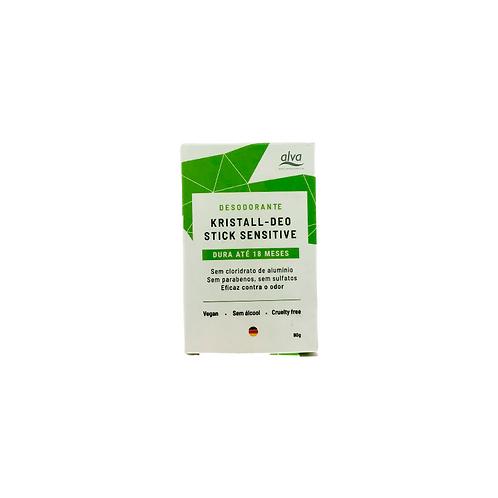 Desodorante Vegano Stone Kristall Sensitive - 90g - Refil