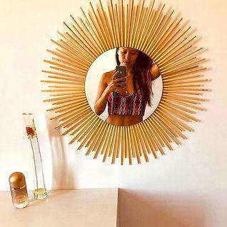 espelho sol sustentável hashis reciclados