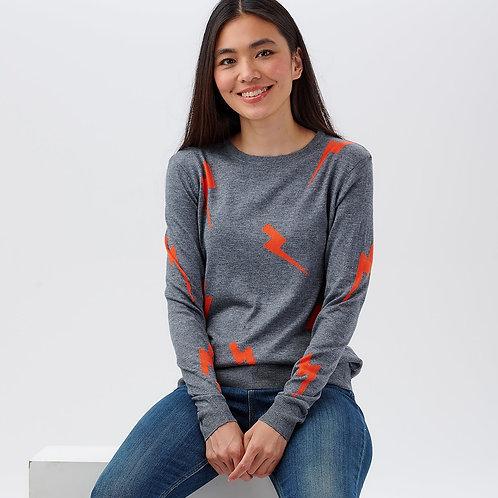Velma Lightning Strikes Sweater