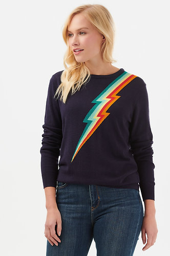 Rita Rainbow Flash Sweater