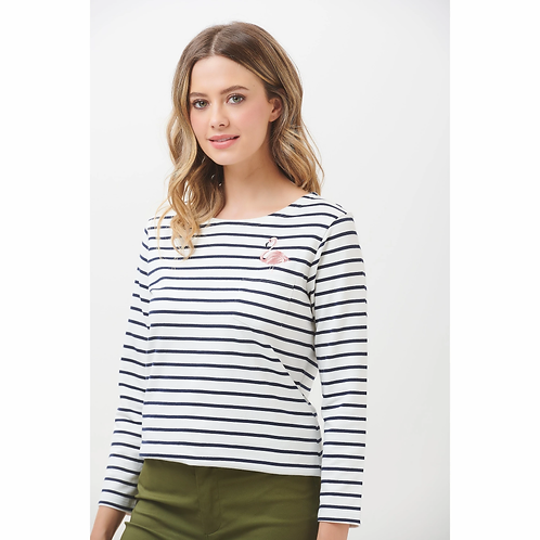 Brighton Flamingo Top