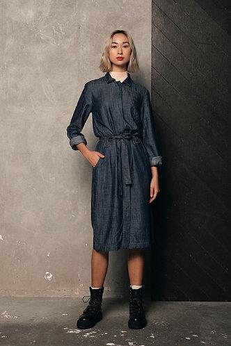 Sunny Tencel Shirt Dress