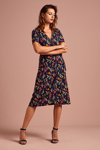 Mandy Wrap Dress Valley