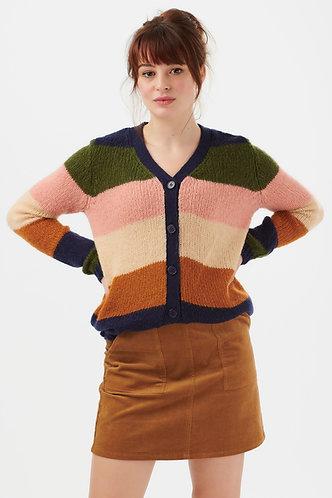 Tameka Block Stripe Cardigan