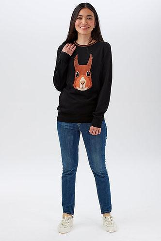 Rita Secret Squirrel Sweater