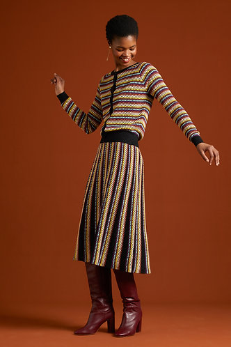 Stripe Skirt Bazaar