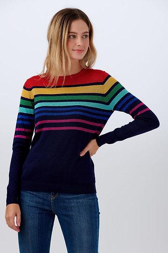 Rowena Ombre Spectrum Sweater