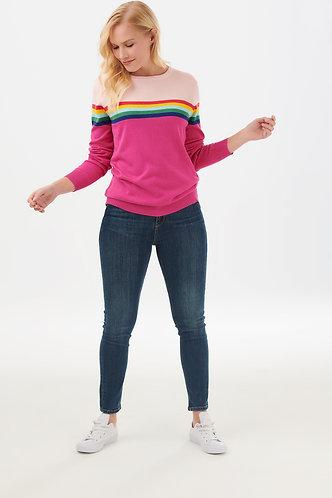 Rita Pink Prism Sweater
