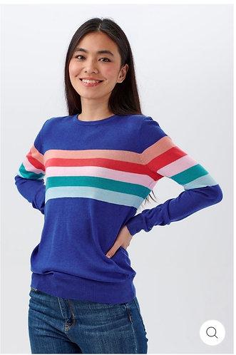 Velma Sherbet Stripe Sweater