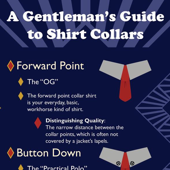 Shirt Collar Infographic