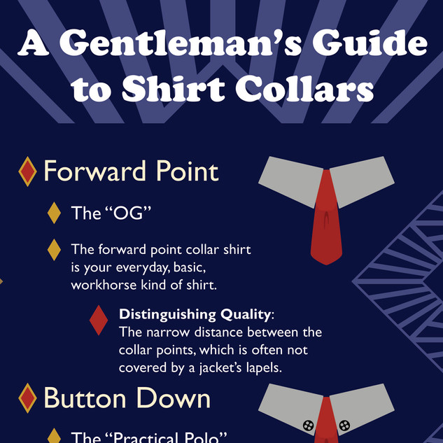 Shirt Collar Infographic