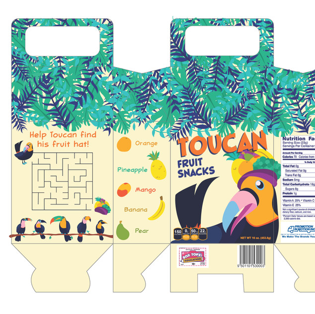 Toucan Fruit Snacks