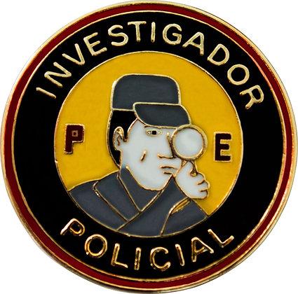 DISTINTIVO INVESTIGADOR POLICIAL