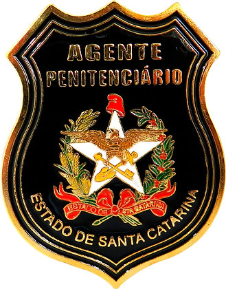 DISTINTIVO AGENTE PENITENCIÁRIO SC