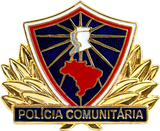 DISTINTIVO POLÍCIA COMUNIT. PROMOTOR