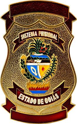 DISTINTIVO DE PEITO SISTEMA PRISIONAL GO