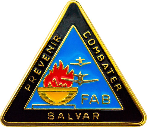 DISTINTIVO FAB PREVENIR / COMBATER / SALVAR