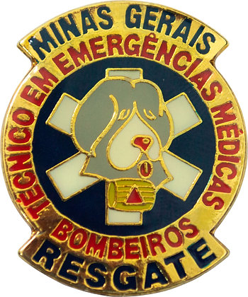 DISTINTIVO RESGATE BOMBEIROS MG