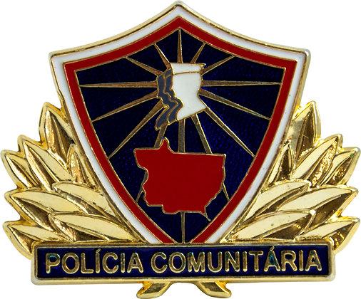 DISTINTIVO POLÍCIA COMUNIT. PROMOTOR MT