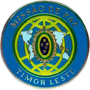 DISTINTIVO MISSÃO DE PAZ / TIMOR LESTE