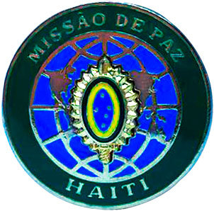 DISTINTIVO MISSÃO DE PAZ / HAITI