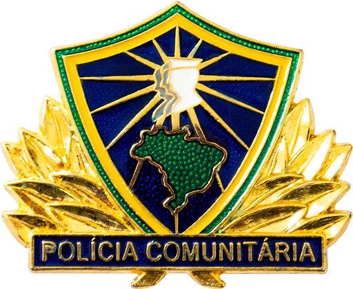 DISTINTIVO POLÍCIA COMUNIT. MULTIPLICADOR