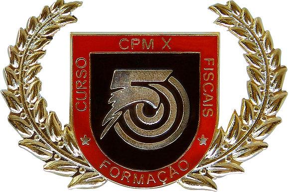 DISTINTIVO DE CURSO FORM. DE FISCAIS CPM X