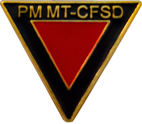 DISTINTIVO DE CURSO CFSD / PMMT