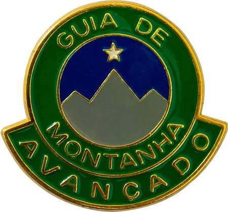 DISTINTIVO DE CURSO GUIA DE MONTANHA AVANÇADO