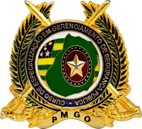 DISTINTIVO DE CURSO CEGESP / PMGO