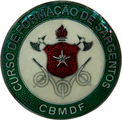 DISTINTIVO DE CURSO CFS / CBMDF