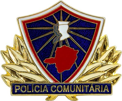 DISTINTIVO POLÍCIA COMUNIT. PROMOTOR MG