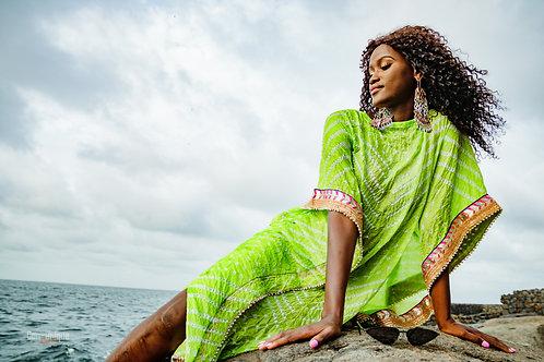 Lugbu Embellished Gown