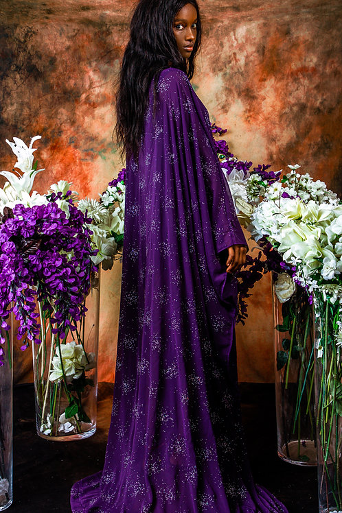 Purple Sparkle Gown