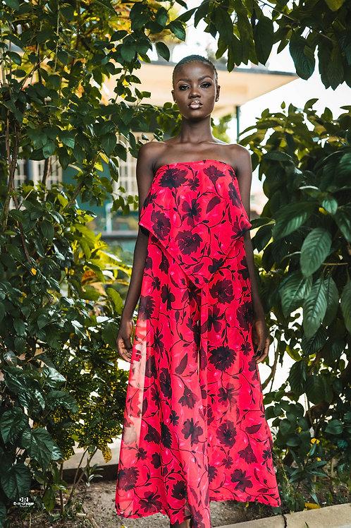Fanta Strapless Dress