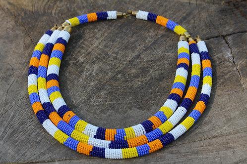 Adobi Triple layered necklace