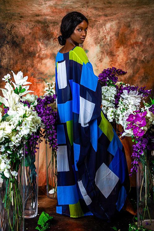 Colour Block Gown