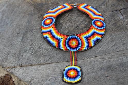 Dhakiya Collar necklace