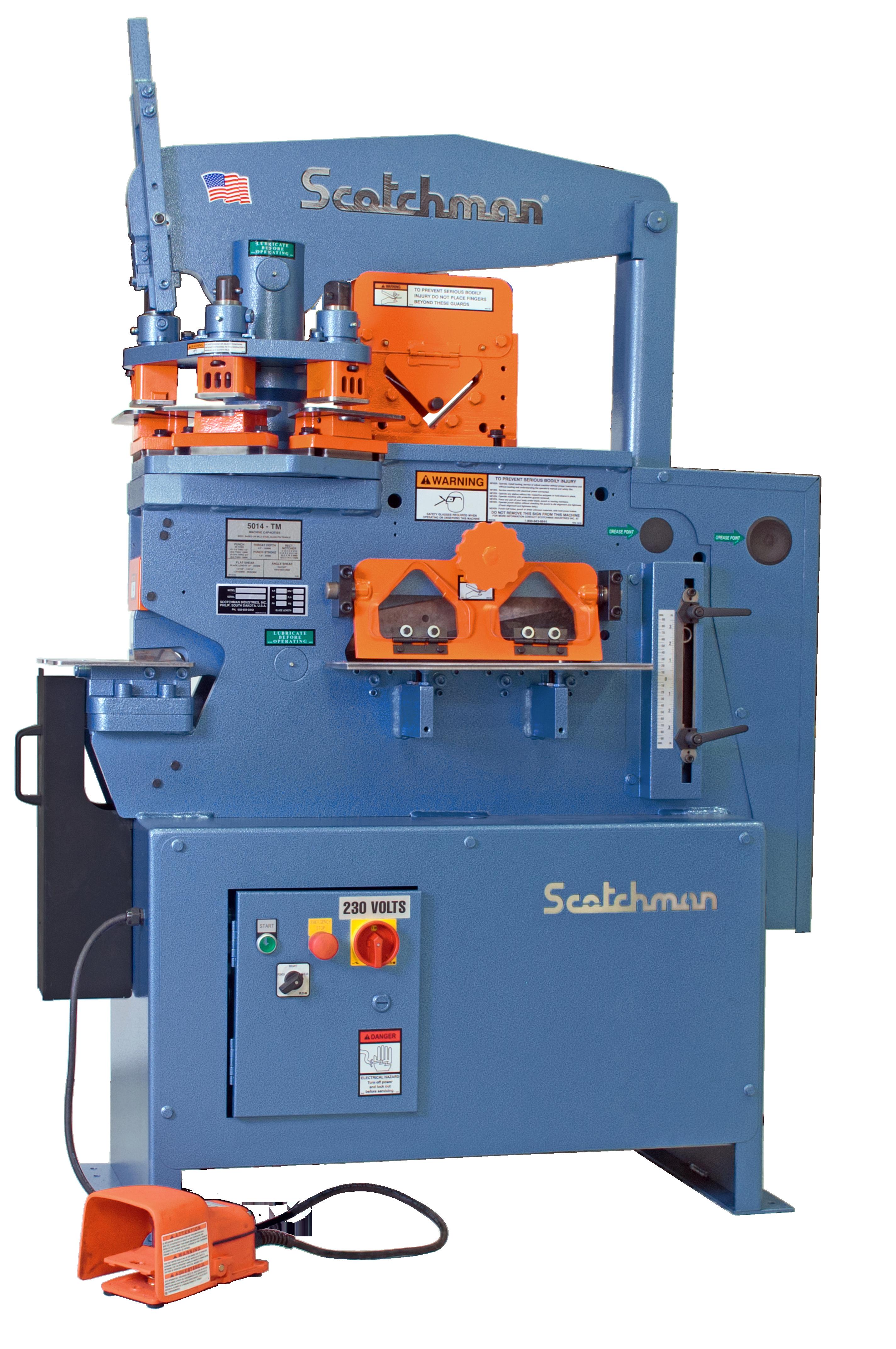 Scotchman Iron Worker 5014ETcc